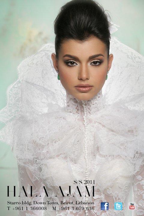 Bridal Hala Ajam 2011 dressed by Nicolas Jebran